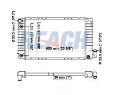 Radiator Reach Cooling 41-1043