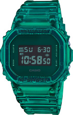 G-Shock DW5600SB-3 Green Color Skeleton Series 90's Throwback Watch