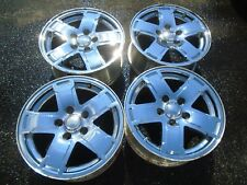 "2005-2007 Jeep Cherokee Limited 17"" Aluminum Chrome Clad Wheel Rims Set of 4 OEM"