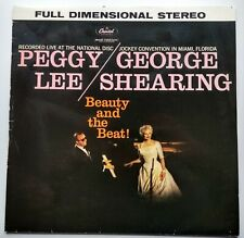 Beauty and the Beat! Peggy Lee & George Shearing Vinyl LP (1983) Capitol ST 1219