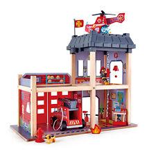 HAPE E3023 Fire Station Engine Infants Children Kids Preschool Toy Age 3 yrs+