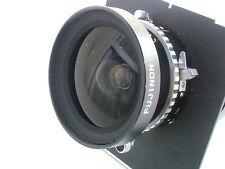 Fujinon (Fuji) SW 90mm /f 8.0 lens (B/N. 606062), Copal shutter, a lens board