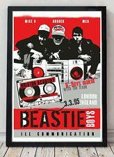 Beastie boys ill communication original poster artwork.