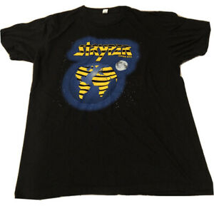 Stryper Yellow And Black Attack Shirt Large Rare Concert Tour Offical Large Rare