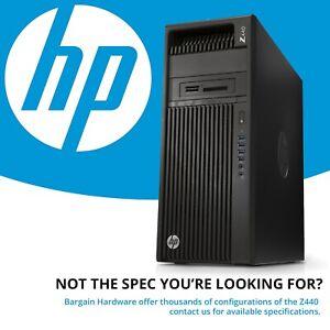 HP Z440 : 4-Core 3.70GHz, 16GB DDR4 RAM Barebones CAD Station Windows 10 Pro