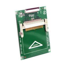 """1.8"""" Compact Flash CF Scheda Di Memoria Per Toshiba CE iPod ZIF HDD SSD Adattatore + Cavi"""