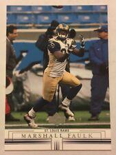 2001 Upper Deck Football Card #135 Marshall Faulk St Louis Rams