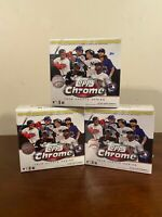 (Lot of 3) 2020 Topps Chrome Update Series Baseball MLB Mega Box   Ready to ship