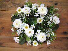Bellis Tausendschön Dekopflanze  Kunstpflanze 23 cm lila 28104-90 getopft F68