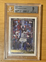 1992 1993 Topps Gold Shaquille O'Neal ROOKIE RC #362 BGS 9 MINT