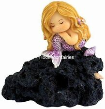 Miniature Little Mermaid in Thought Fairy Gnome Hobbit Garden To 4314