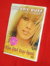 BRAND NEW Hilary Duff - The Girl Can Rock DVD 2 HRS of her Tour and Performances