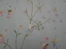 Sanderson Tela De Cortina 'Fairyland' 1.2 metros Polvo Azul-Abracazoo Fabrics
