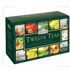 Ahmad Tea London Twelve Teas 60 Teabag Combination 12 different Teas