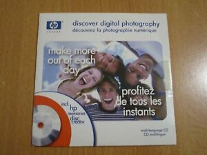HP DISCOVER DIGITAL PHOTOGRAPHY PC CD-ROM