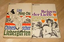 Amouröse Geschichten aus dem alten Italien / Chinesischer Liebesgarten TB 60er