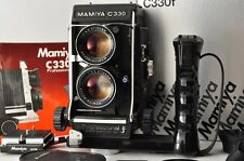 Near MINT MAMIYA C330 Prodessional f SEKOR DS 105mm f/3.5 Boxed from Japan #2165
