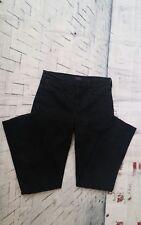 NYDJ Lift & Tuck Technology Women Stretch Jeans Black Embellish Back Pockets