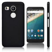 Black Matte Gel TPU Case Cover Skin For LG Nexus 5X H790 H791