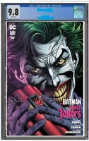 Batman Three Jokers #1 Prem C CGC 9.8 Preorder FREE SHIPPING! HARDCOVER OFFER!