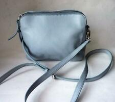 FOSSIL  BABY BLUE PEBBLED LEATHER CROSSBODY PURSE  BAG