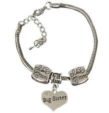 Sister Bracelet -Sister Jewelry- Sister Charm Bracelet, Big Sister Bracelet for