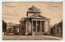 More details for the synagogue, warsaw: poland postcard (c35857)