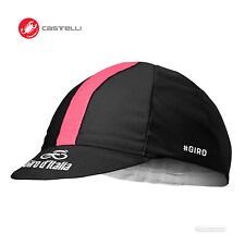 Castelli Offiziell #Giro d'Italia Cycling Cap : NOIR BLACK - One Size