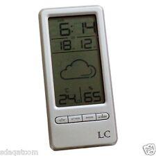 WIRELESS SVEGLIA DIGITALE STAZIONE METEO con Umidità e Temperatura