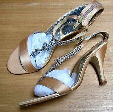 La Strada High heeled shoes, Gold size 4 UK, NIB