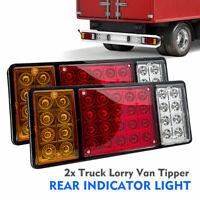 2X 36 LED 12V Remorque Camion van Stop Arrière Indicateur Feux Arrière Lampe