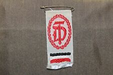 WW2 German National Patent Service Ribbon w/National Colors & Pin (Ges. Gesch.)