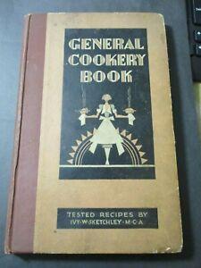 VINTAGE COOKERY BOOK - IVY SKETCHLEY - FOR GOVENOR GENERAL GENERAL GAS COOKER