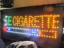 "Large 20""X10"" Bright Smoke Shop E Cigarette LED Sign Animated"