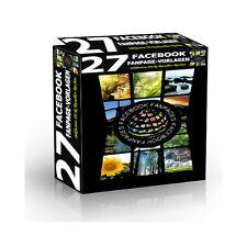 Facebook Fanpage-Projekte 27 Facebook Fanpage VorlagenTemplates - PLR/Reseller
