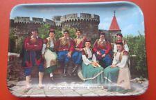 Ashtray Crnogorska Narodna Nosnja Montenegrin National Costume Putnik Yugoslavia