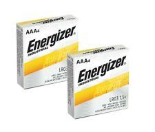 Energizer Industrial EN92 AAA Batteries 2 x 4 Packs (8 batteries)