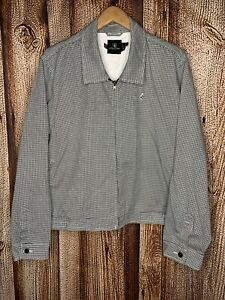 Volcom Frochickie Shirt Jacket Full Zip Houndstooth Checkered Womens Juniors 18W