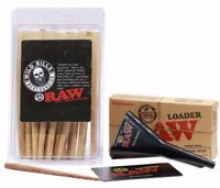Raw 98 Special Size cones 30 count Plus Raw Cone Loader