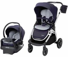 Maxi-Cosi Adorra Travel System Stroller w/ Mico Max Infant Car Seat & Base Navy