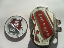 Wilson Staff Ball Marker Metal Magnetic Hat Clip Tour Bag New PGA Rare
