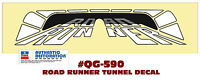 QG-590 1975 PLYMOUTH ROAD RUNNER - DECK LID TUNNEL DECAL