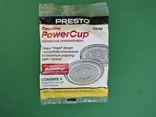 Microwave Powerpop Replacement Power Cup Powercup Concentrator Presto 09964 8pc