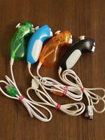 Lot Of 4 Aftermarket Nintendo Wii Nunchuck Controllers working