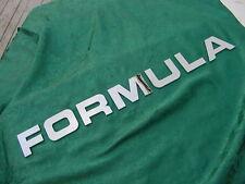 """FORMULA BOAT LETTERS EMBLEM LOGO CHROME 2-5/8"""" HIGH NEW 7 LETTER SET! SAVE !!"""