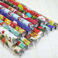 5 sheets Wrapping Paper Gift Wrap Packing Package Paper Christmas Paper 75*52CM