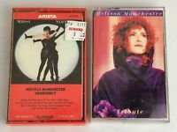 Lot of 2 MELISSA MANCHESTER Cassette Tapes ~ Tribute, Emergency