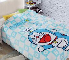 Doraemon flying coral fleece Bed blanket rug blankets 200x150CM warm soft new