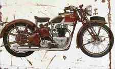 Triumph speedtwin 1939 aged vintage signe A3 grand rétro