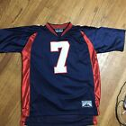 STEVE & BARRY'S ATHLETIC DEPT Sz Large # 7 Jersey, Blue Red White Patriotic AA23